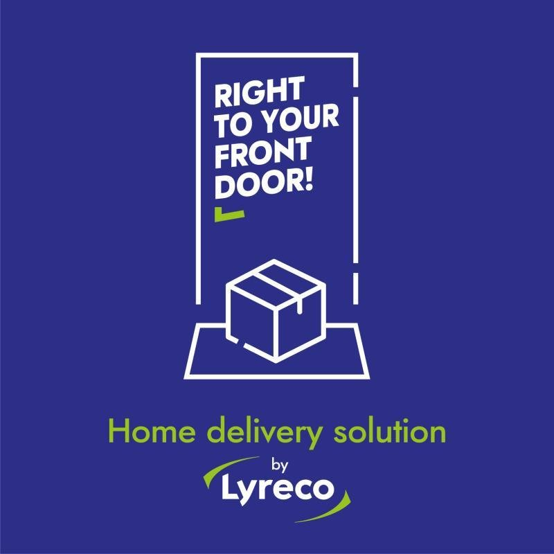 home delivery by Lyreco